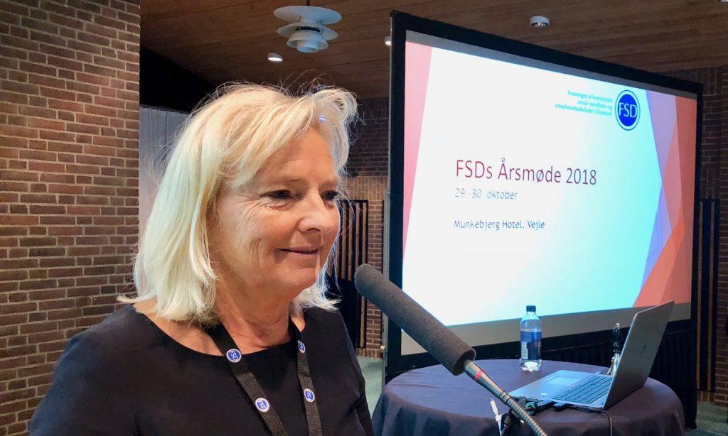FSD-Årsmøde: Helle Linnet fortsætter som formand