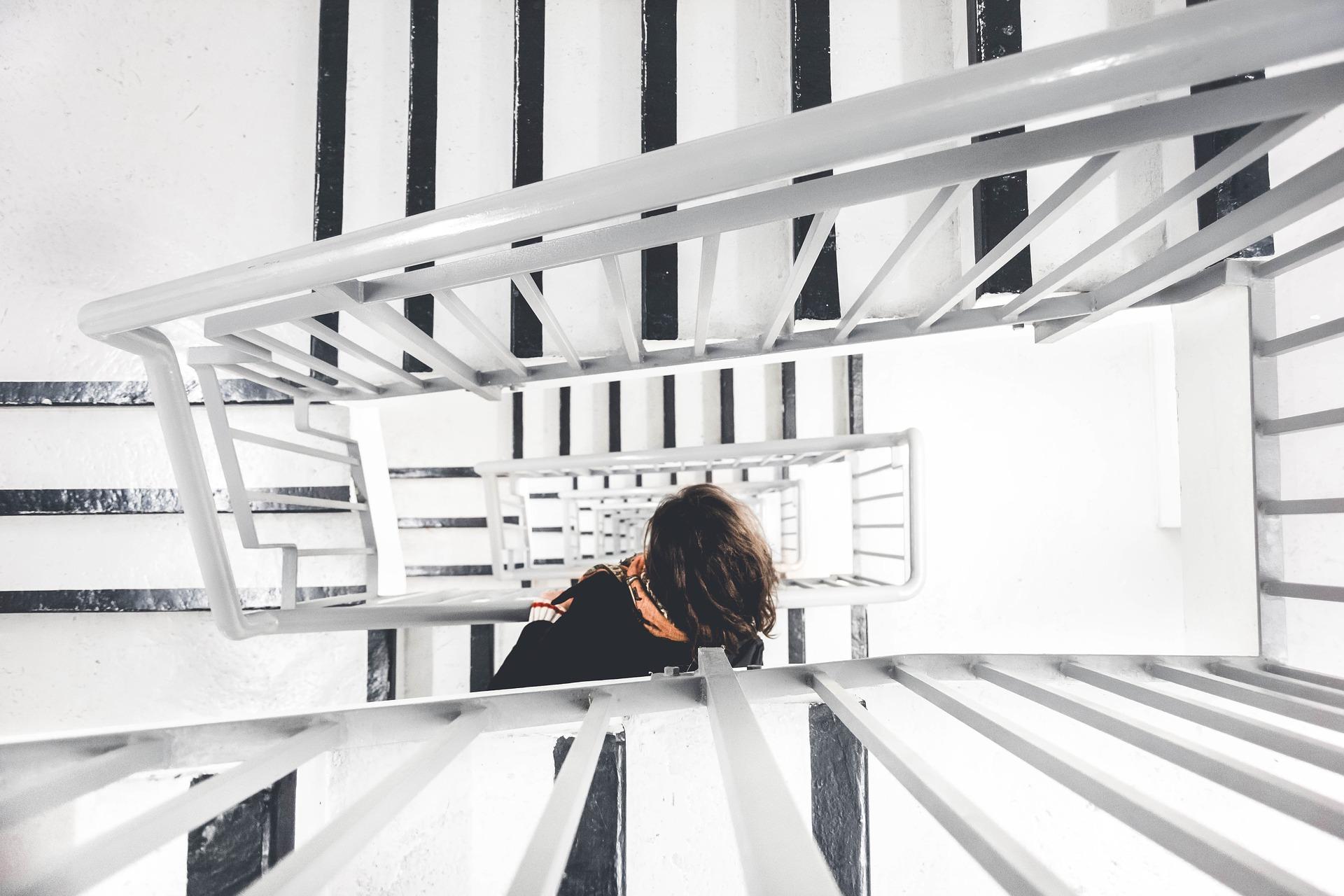 Sådan tager du et trin op ad stigen som leder